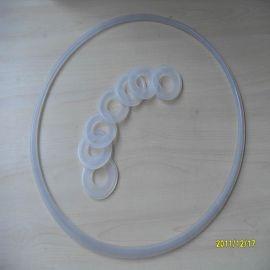 通用型快装硅胶垫圈 卫生级接头密封 卡盘接口密封