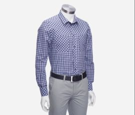 纯棉长袖衬衫