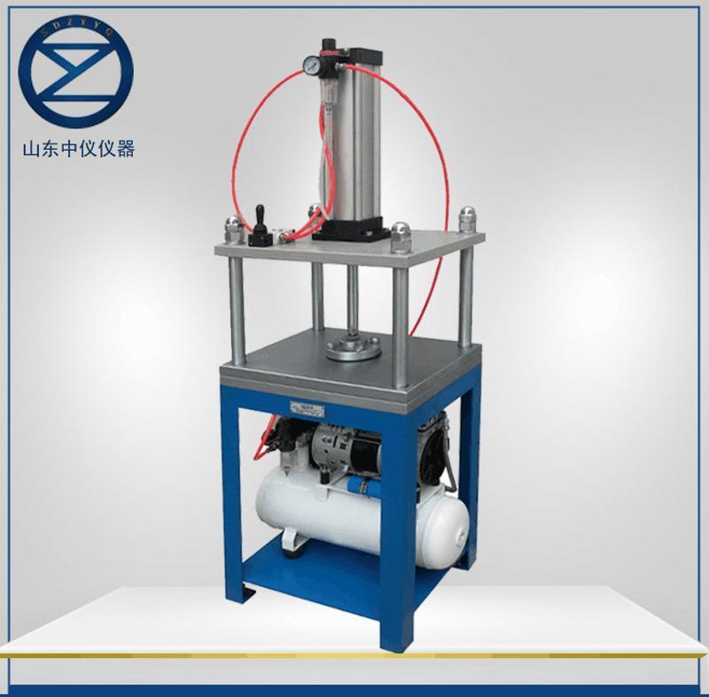 ZY-YZ-1气动纸样压榨机