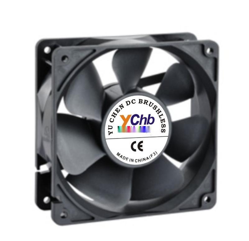 12025DC12V, 24V散熱風扇,軸流風扇
