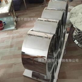 厂家定制不锈钢茶几客厅组合家具创意茶几简约