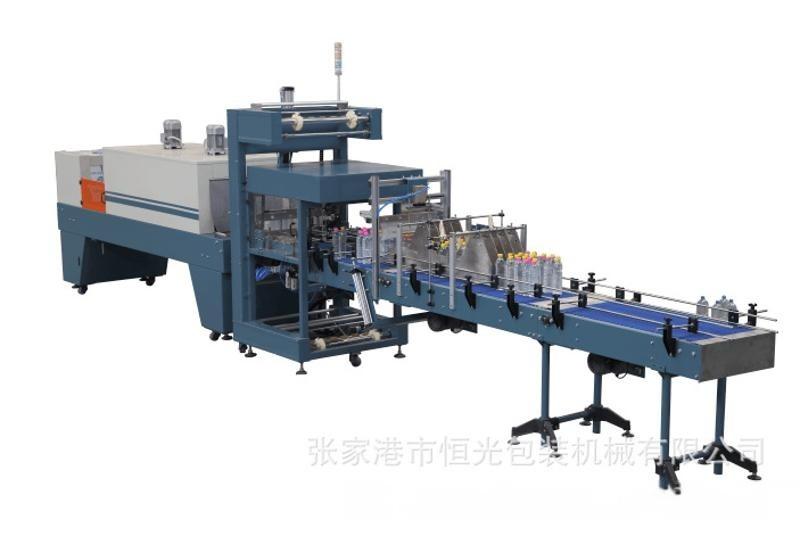 HG-900直線式熱收縮包裝機械 直線膜包機