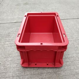 厂家现货塑料周转箱 蓝色仓储折叠箱 物流箱 EU箱 中转箱子批发