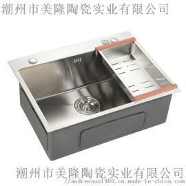 美隆厨房用304不锈钢水槽