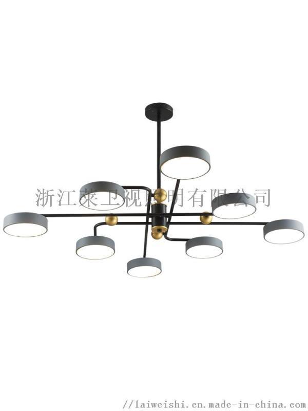 北欧简约创意个性卧室餐厅魔豆分子灯大气网红客厅吊灯
