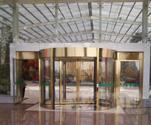 四川酒店旋轉門,304不鏽鋼系列旋轉門