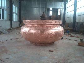 铜香炉 紫铜香炉铜雕 树林铜雕厂