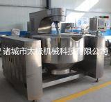 400L蒸汽夾層鍋 可傾式夾層鍋 不鏽鋼夾層鍋