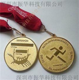定制2d上色压铸外贸纪念币胸章锌合金奖牌奖章