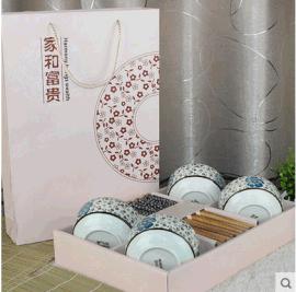 廠家直銷批發各種筷子禮品 陶瓷碗筷套裝 禮品食具套裝