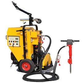 路得威-液压遥控井盖圆周切割机-井盖维修**帮手-使用各种路面情况