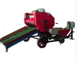 自动化牧草秸秆青贮打捆包膜一体机加盟