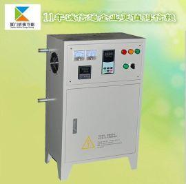 原厂低价现货供应高性能数字全桥80KW 电磁感应加热控制柜(水冷+风冷双重散热)︱造粒机节能改造
