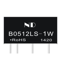 12V升压电源模块价格,B0512LS-1W隔离模块电源批发