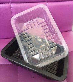 鸭货塑料锁鲜盒哈哈镜盒塑料盒生产厂家 价格批发 山东