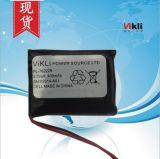 現貨出售3.7V聚合物鋰電池762228-400mah,訓狗器聚合物電池