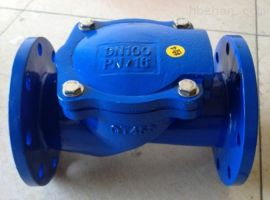 橡胶瓣式止回阀H44X,排水止回阀