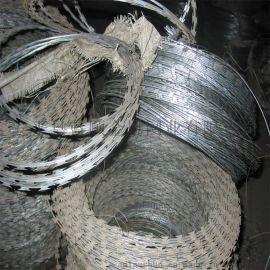 【刀片刺绳厂家】直销316不锈钢刀片刺绳,刀片刺网