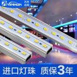 vinhonled5630硬燈條 貼片12V硬燈帶5050 5730led硬燈條廠家定製