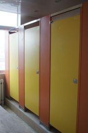 河南新款上市卫生间隔断公共厕所隔板 二代抗倍特板隔断防水防潮挡板
