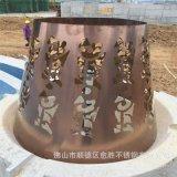 優質新穎仿古銅不鏽鋼藝術屏風 紅古銅不鏽鋼件 青古銅件