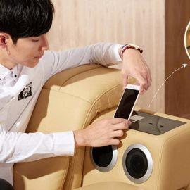 无线手机充电沙发音响配件可连接电视播放音频多功能家居蓝牙组件