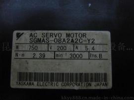 烟台安川伺服电机维修 SGMAS-08A2A2C-Y2更换编码器调试原点