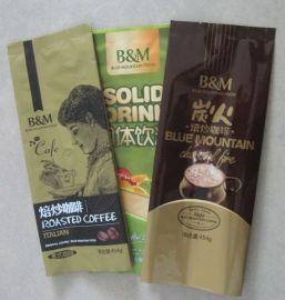 专业定制排气阀咖啡袋真空避光**咖啡自立袋