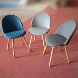 厂家直销 酒店餐椅 布艺椅子 实木椅 餐厅椅子
