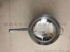 遵义不锈钢不粘锅炒锅无烟锅厂家直销 钢板锅十大品牌