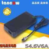 大功率警用設備54.6V6A磷配鐵鋰電池充電器