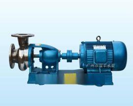 深圳冠羊水泵厂家销售 65KF-32 化工耐腐蚀泵 带底座托架式离心泵