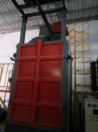 吊钩式抛丸机 为钢材型钢类产品除锈