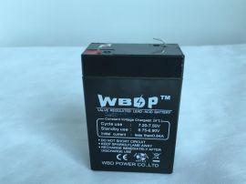 免维护铅酸蓄电池6V2.8AH