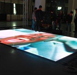 全彩显示屏、感应地板屏、户外全彩屏