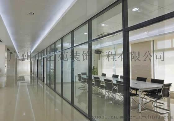广州办公室装修、办公室隔断生产、安装