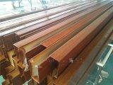 傳喜 U型木紋鋁方通 吊頂隔斷裝飾建材