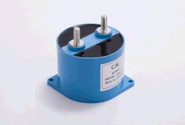 金屬化膜直流濾波電容器(圓塑殼)