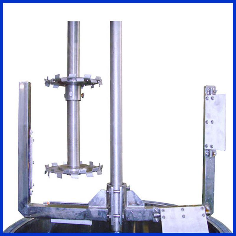 定制高速分散低速搅拌带刮壁双轴分散搅拌机
