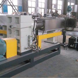 平行双螺杆水环造粒机 塑料造粒机生产厂家