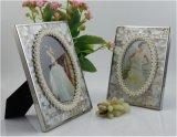 欧式后现代家居饰品 创意 珍珠油花贝壳相框摆台 photo frame