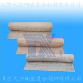 天兴 涂蛭石陶瓷纤维布 蛭石硅酸铝布 蛭石保温布