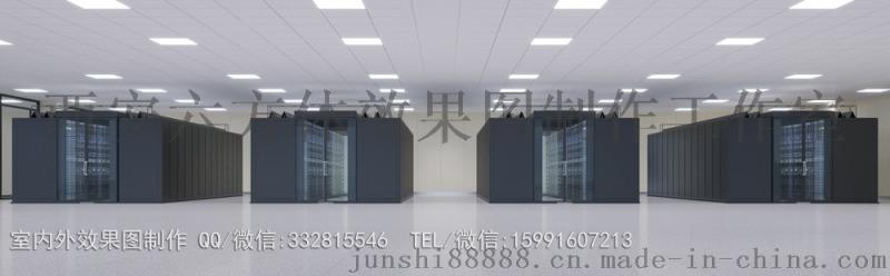 ECC数据机房效果图制作|运维中心效果图设计