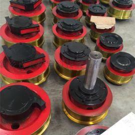 直角箱轨道轮 行走轮 行车轮 直径250单边车轮组