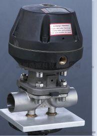 卫生级手动隔膜阀316焊接