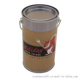 业士制罐定制D100*175mmPVC铁桶|圆桶