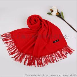 WOOL款羊毛围巾