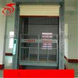 東莞惠州轎箱式液壓升降貨梯 導軌鏈條直頂平臺廠家