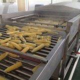 东北即食玉米成套流水线 甜玉米去须机 玉米加工设备