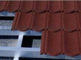 河北彩石金属瓦彩石瓦金属屋面瓦轻钢别墅瓦厂家